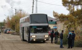 Як автобуси пур аз муҳоҷирони кории тоҷик дар Южноуралск боздошт гардид
