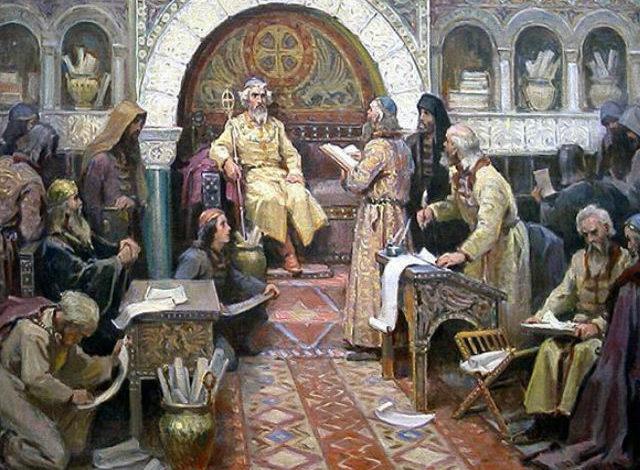Гуфтугӯи Абубакри Боқиллонӣ бо императори Рум (қиссаи таърихӣ)