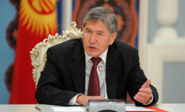 Атамбоев: пойгоҳи ҳарбии Русия дар Қирғизистон баста хоҳад шуд