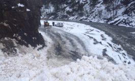 Роҳи Душанбе Хуҷанд боз баста шуд