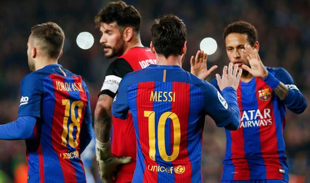 Дубли Месси ва пирӯзии «Барселона»