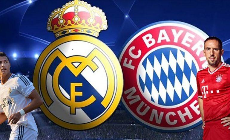 «Бавария «-и Олмон  бо  «Реал «-и Мадрид вомехӯрад