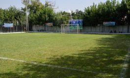 Сохтмони майдони футбол дар шаҳри Ваҳдат бо роҳзании давлатӣ